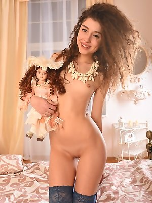 Play with a doll