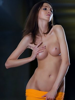 Adorable naked girl
